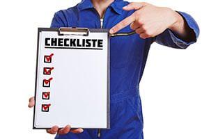 Eine Checkliste für den Sperrmüll