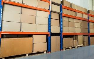 Günstige Lagerung für Privat und Gewerbe in unserer Lagerhalle